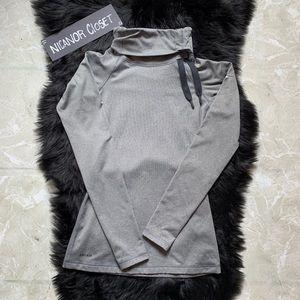 Women's Nike Grey Hoodie